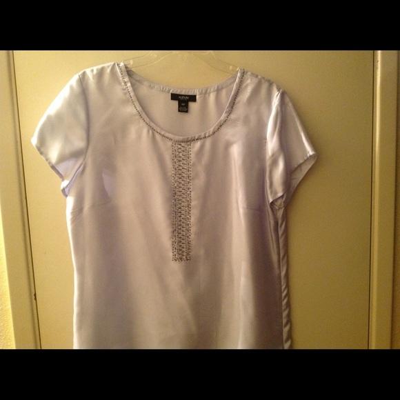 f2d9c7f5b701c Alfani Tops - Alfani 100% silk blouse.
